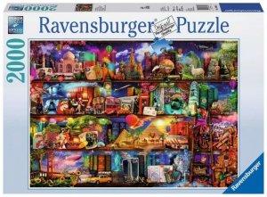 Ravensburger Polska Puzzle 2000 elementów Świat książek