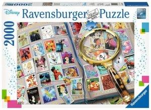 Ravensburger Polska Puzzle 2000 elementów Kolekcja znaczków pocztowych