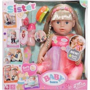 Zapf Lalka BABY BORN Soft Touch Siostrzyczka jednorożec