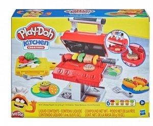 Hasbro Zestaw z masą plastyczną PlayDoh Wielkie Grillowanie