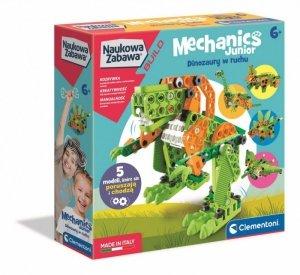 Clementoni Zestaw konstrukcyjny Mechanika Junior Dinozaury