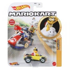 Hot Wheels Pojazd podstawowy Mario Kart Lakitu