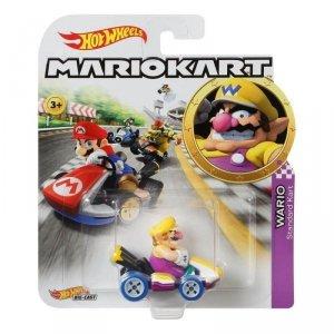 Hot Wheels Pojazd podstawowy Mario Kart Wario