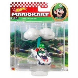 Hot Wheels Pojazd-lotnia Mario Kart Luigi P-Wing