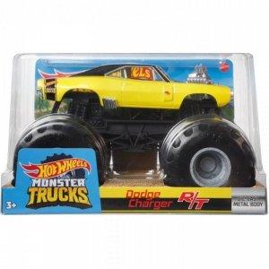 Hot Wheels Pojazd Monster Trucks 1:24 Dodge Charger