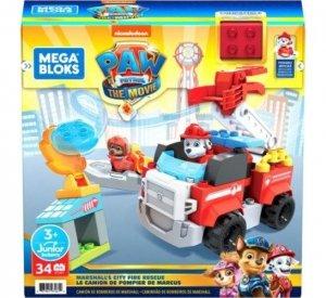 Mega Bloks Klocki Psi Patrol Wóz strażacki Marshalla