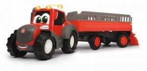 Dickie ABC Massey Ferguson Traktor z przyczepą