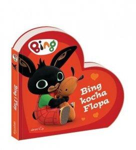 Harper Collins Książeczka kartonowa Bing kocha Flopa
