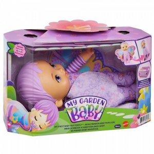 Mattel Lalka My Garden Baby Bobasek-Motylek Miękka fioletowa