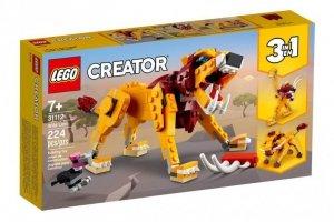 LEGO Klocki Creator 31112 Dziki lew