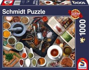 Schmidt Puzzle 1000 elementów Zioła i przyprawy