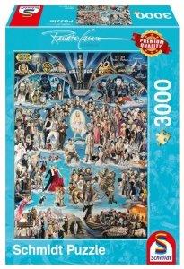 Schmidt Puzzle 3000 elementów Renato Casaro Hollywood XXL