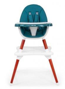 Milly Mally Krzesełko do Karmienia 2w1 Malmo Dark Gree