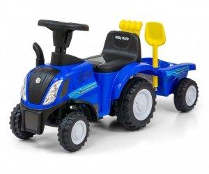 Milly Mally Jeździk Pojazd New Holland T7 Traktor niebieski