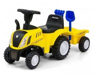 Milly Mally Jeździk Pojazd New Holland T7 Traktor żółty