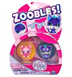 Spin Master Figurki Zoobles Zwierzątka 2pak Unicorn/Tiger