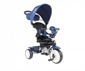 Qplay Rowerek Trójkołowy Comfort niebieski