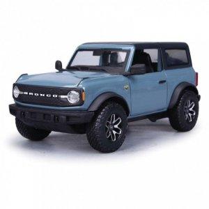Maisto Model kompozytowy Ford 2021 Bronco Badlands niebieski 1:24