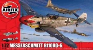 Airfix Model pastikowy Messerschmitt BF109G-6 1/72