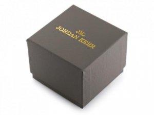 Prezentowe pudełko na zegarek - JORDAN KERR - szare/złote