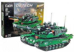 Klocki konstrukcyjne Wojsko Czołg R/C 2.4G 1498 El