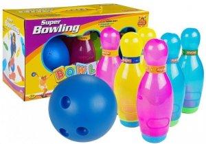 Duzy Zestaw Kregli 6szt + Piłka Bowling