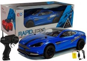 Auto Sportowe Zdalnie Sterowane 1:10 Niebieskie
