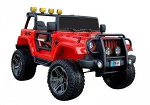 Auto na Akumulator WXE-1688 4x4 Czerwony