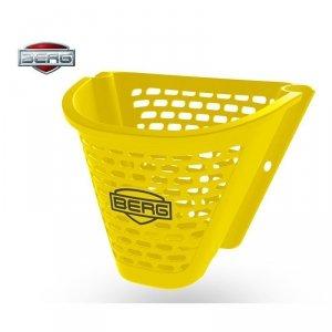 BERG Żółty kosz na kierownicę Buzzy
