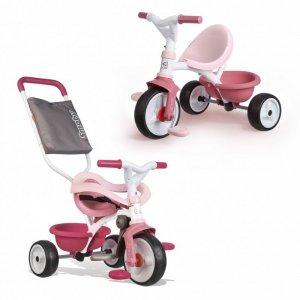 SMOBY Rowerek Trójkołowy Be Move Komfort Różowy