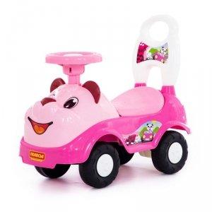 Wader QT Jeździk w kształcie różowego misia