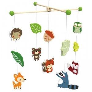 CLASSIC WORLD Karuzela Leśne Zwierzątka Nakręcana dla Dzieci