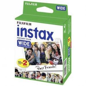 Fujifilm Instax Wide Glossy (10plx2) Film Quantity 20, 108 x 86 mm