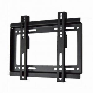Gembird Wall mount, WM-37F-01, 17-37 , Fixed, 200x200 mm, Black