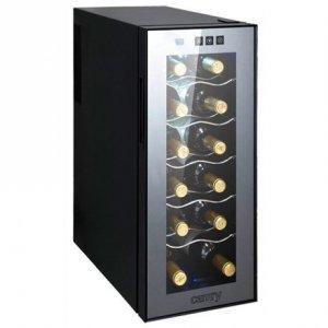 Camry Wine Cooler CR 8068 Free standing, Bottles capacity 12, Black