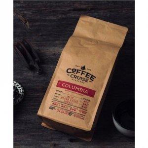 COFFEE CRUISE Columbia Coffee Beans, Coffee strength Medium, Arabica, 1000 g, 1 kg