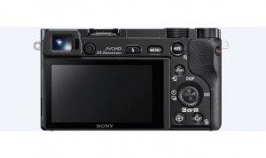 Sony ILCE6000B.CEC Mirrorless Camera body, 24.3 MP, ISO 25600, Display diagonal 3 , Wi-Fi, Exmor APS HD CMOS, Black, Image stab