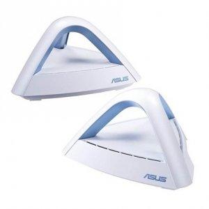 Asus Home Wi-Fi Mesh System Asus Lyra Trio (2pack) 802.11ac, 450+1300 Mbit/s, 10/100/1000 Mbit/s, Ethernet LAN (RJ-45) ports 1,