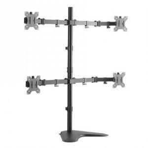 Logilink BP0046 Quad Monitor Desk Stand 13-32'' Logilink Desk Mount, BP0046, 13-32 , Maximum weight (capacity) Carrying capac