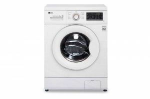 LG Washing Machine FH2J3TDN0 Front loading, Washing capacity 8 kg, 1200 RPM, Direct drive, A+++, Depth 55 cm, Width 60 cm, White
