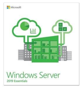 Microsoft Windows Server Essentials 2019 Oem G3S-01299 DVD-ROM, 1 server (1-2 CPU), Licence, EN