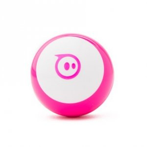 Sphero Mini App-enabled Robotic Ball - Robot Pink/ white, Plastic, No