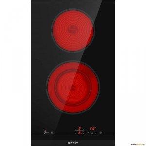 Gorenje Hob ECT322BCSC Vitroceramic, Number of burners/cooking zones 2, Black, Display, Timer
