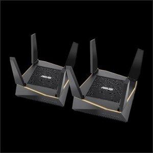 Asus Router RT-AX92U 2PK 802.11ax, 400+ 867+ 4804 Mbit/s, 10/100/1000 Mbit/s, Ethernet LAN (RJ-45) ports 4, Mesh Support Yes, MU