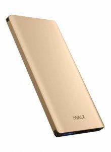 IWalk Extreme Spartan Universal backup battery UBC10000 10000 mAh, Gold