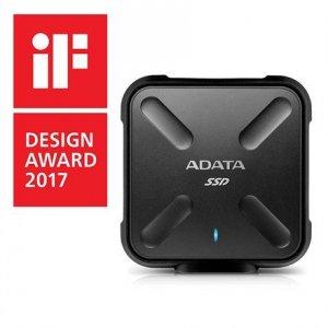 ADATA External SSD SD700 512 GB, USB 3.1, Black