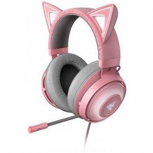 Razer Kraken Kitty Gaming Headset, Wired, Quartz