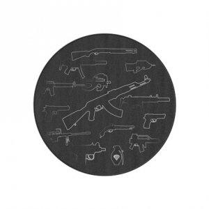 GENESIS Tellur 300 AOG Protective Floor Mat, 100cm, Black