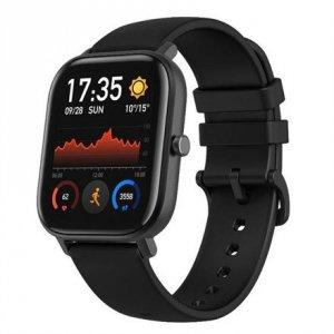Amazfit GTS Smart watch, GPS (satellite), AMOLED, Touchscreen, Heart rate monitor, Activity monitoring 24/7, Waterproof, Bluetoo