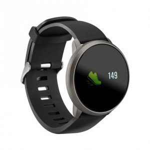 Acme Smart Watch SW101 Steps and distance monitoring, Aluminium alloy, Heart rate monitor, Black, IP68, Waterproof
